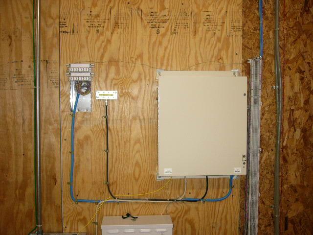 Ont Wiring In Progress Broadband Fios Fiber Verizon Installation